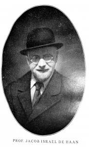 Portrait von Jacob Israel de Haan